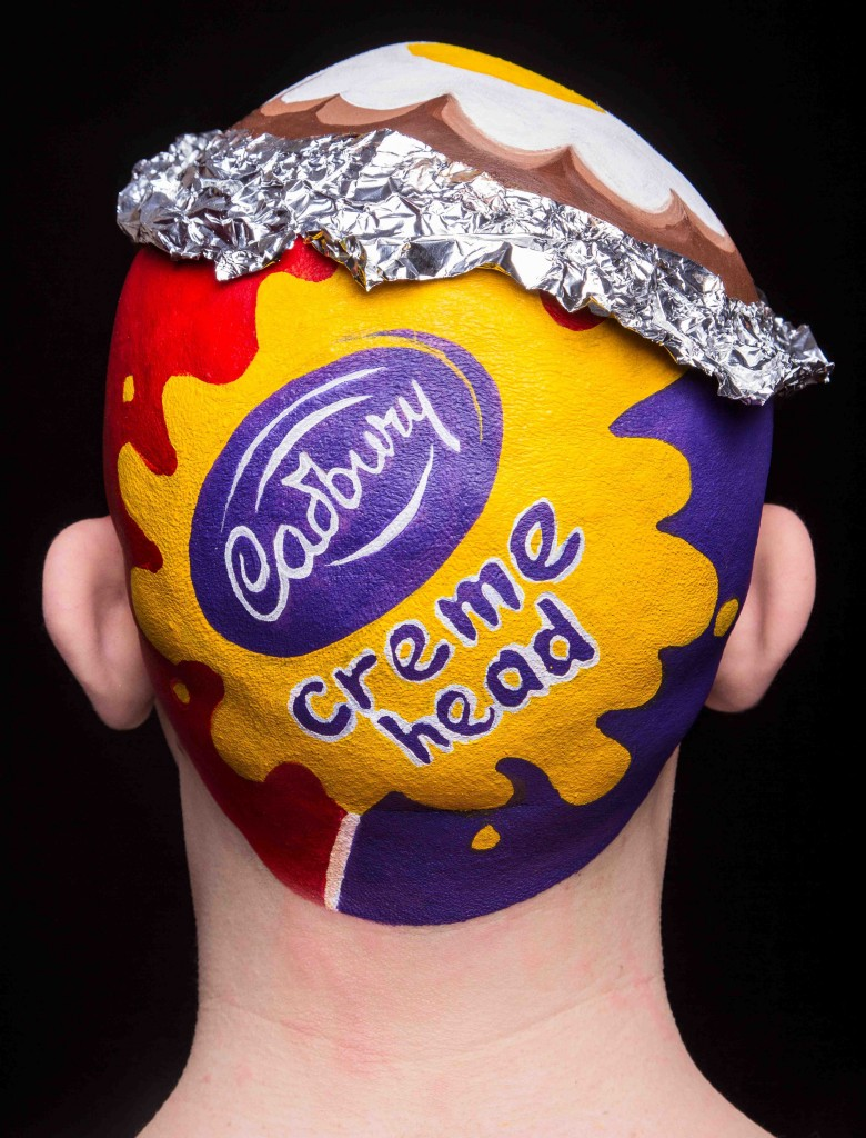 Cadbury Creme Egg Head 1
